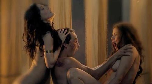 Spartacus Threesome