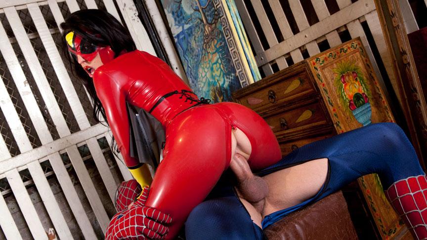 Spiderman hardcore porn parody