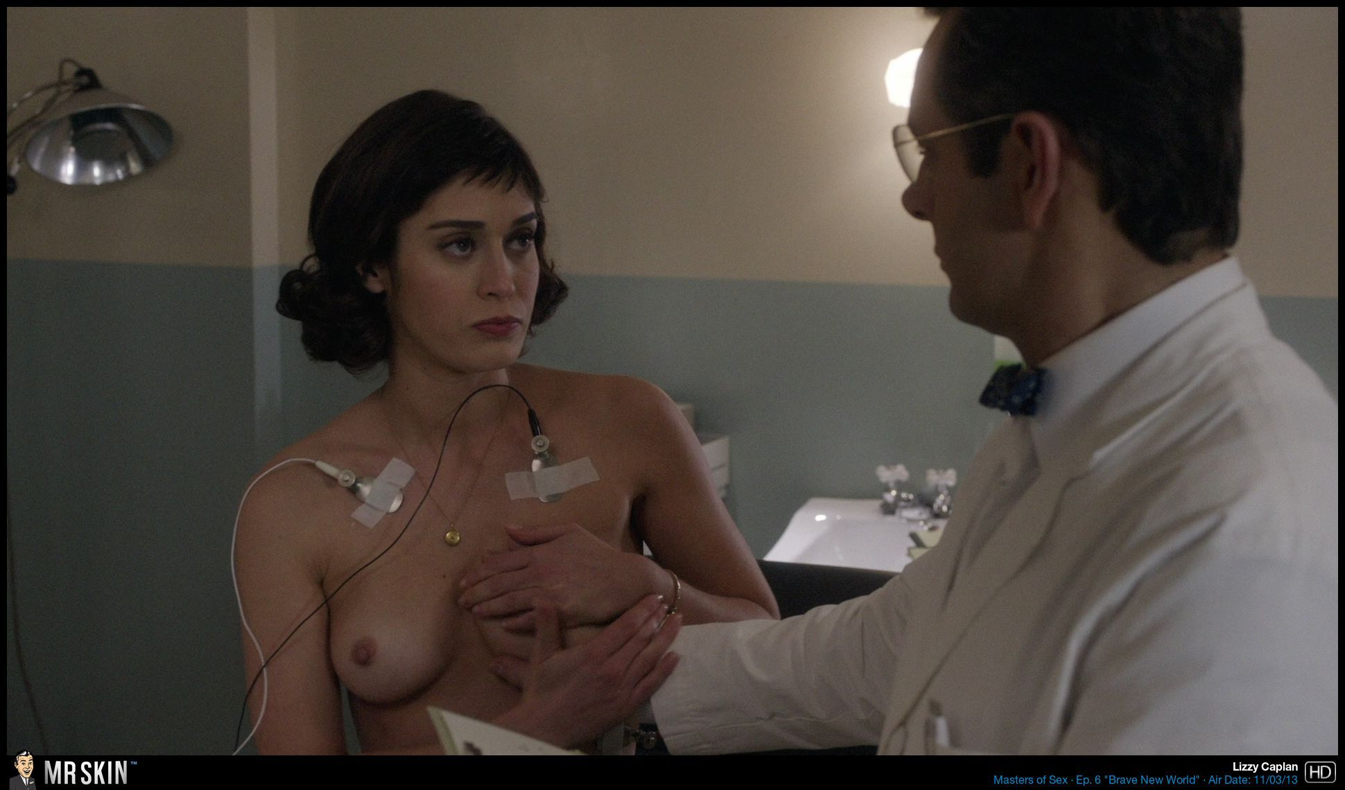 Lizzy Caplan Breast