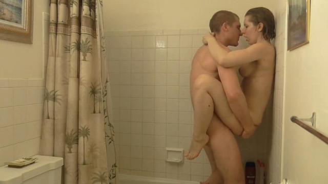 Sexy amateur quickie shower porn video featured