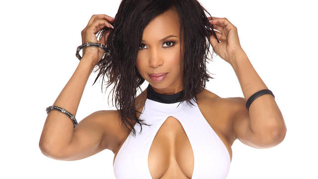 Elise neal swimsuit cleavage photoshoot black fitness today magazine jan 2017 1 featured