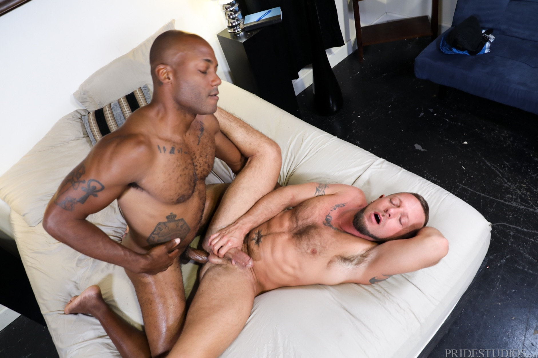 Interracial Sex at Pride Studios