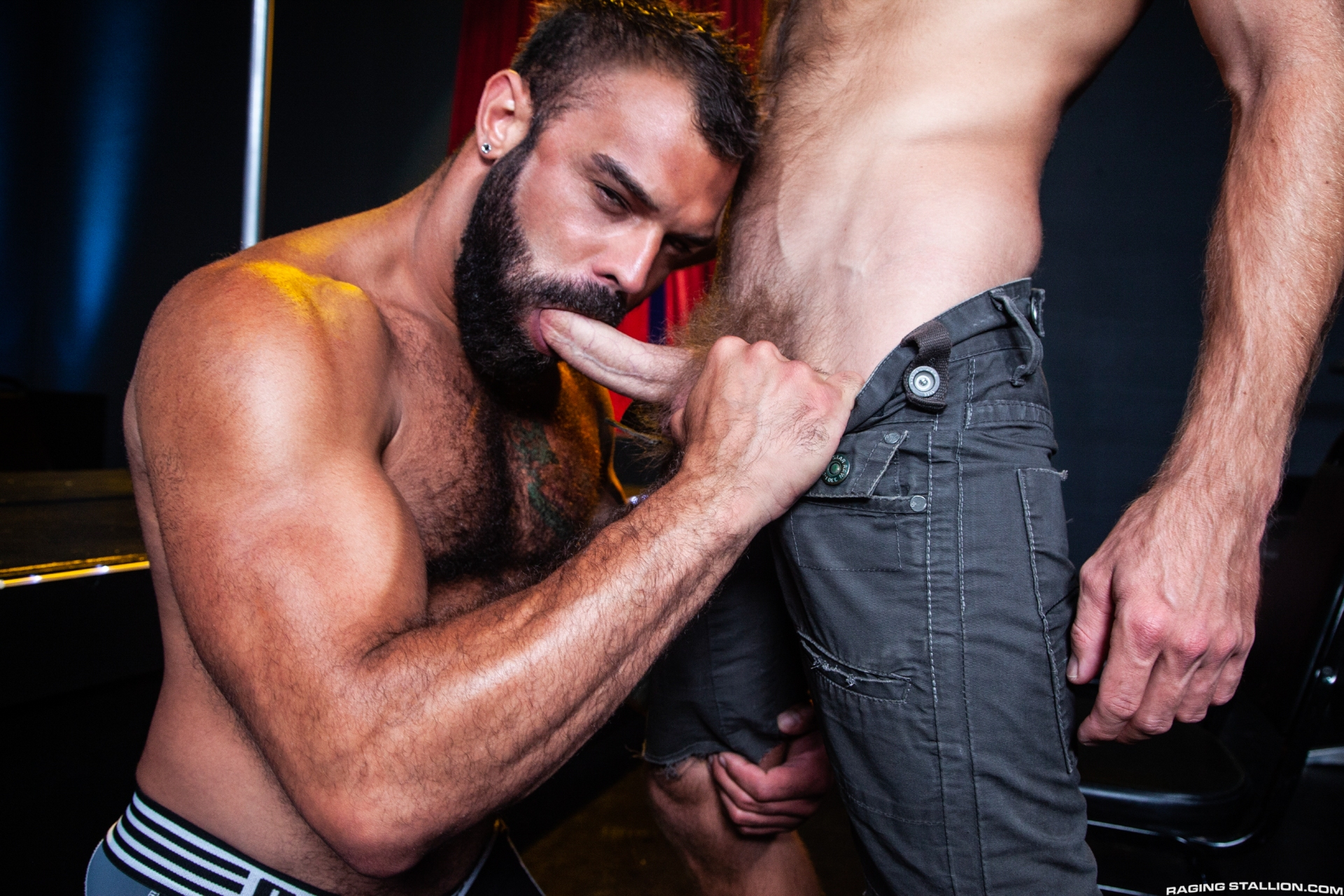 Otter Erotic Scene 3 - Raging Stallion