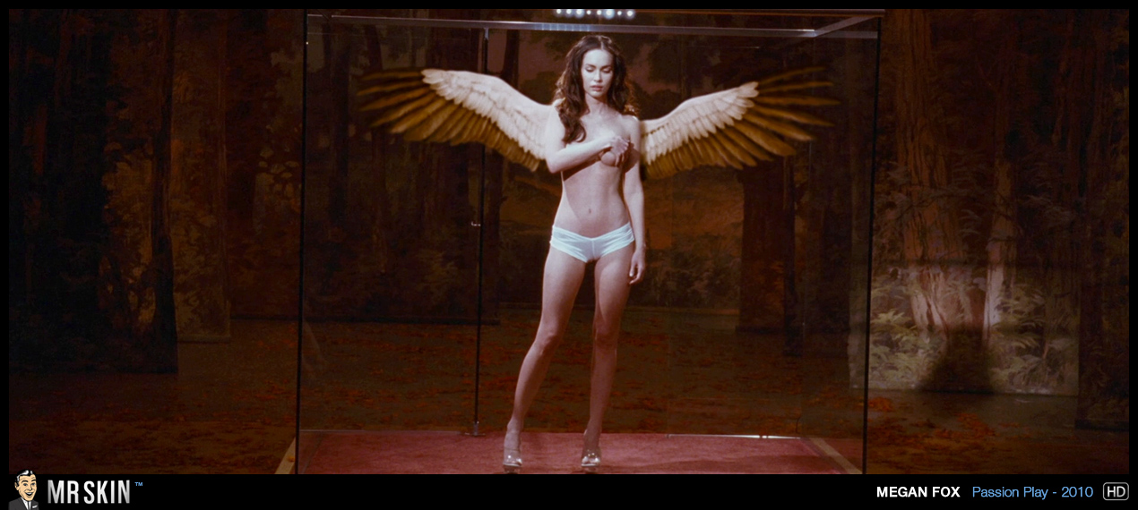 Megan Fox Topless With Wings