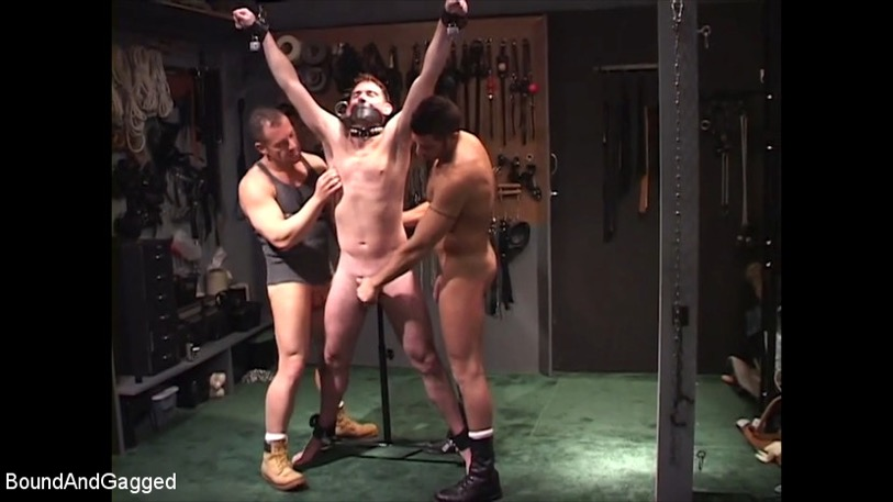 bound and gagged porn at kink.com