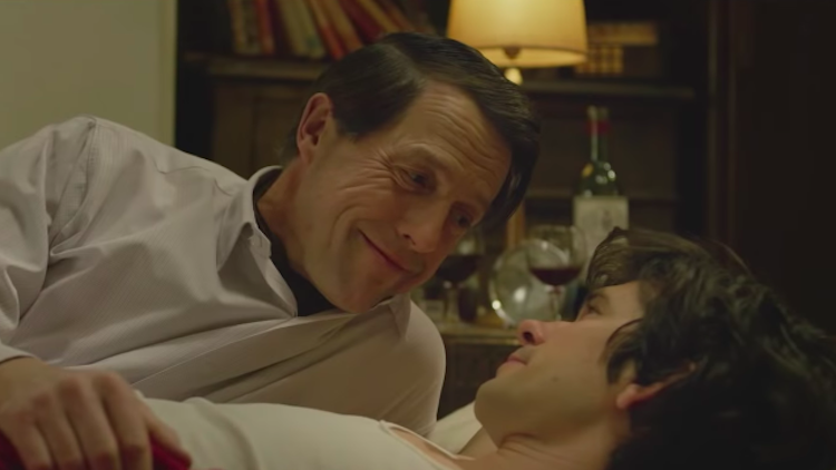 Hugh Grant, Ben Whishaw in A Very English Scandal
