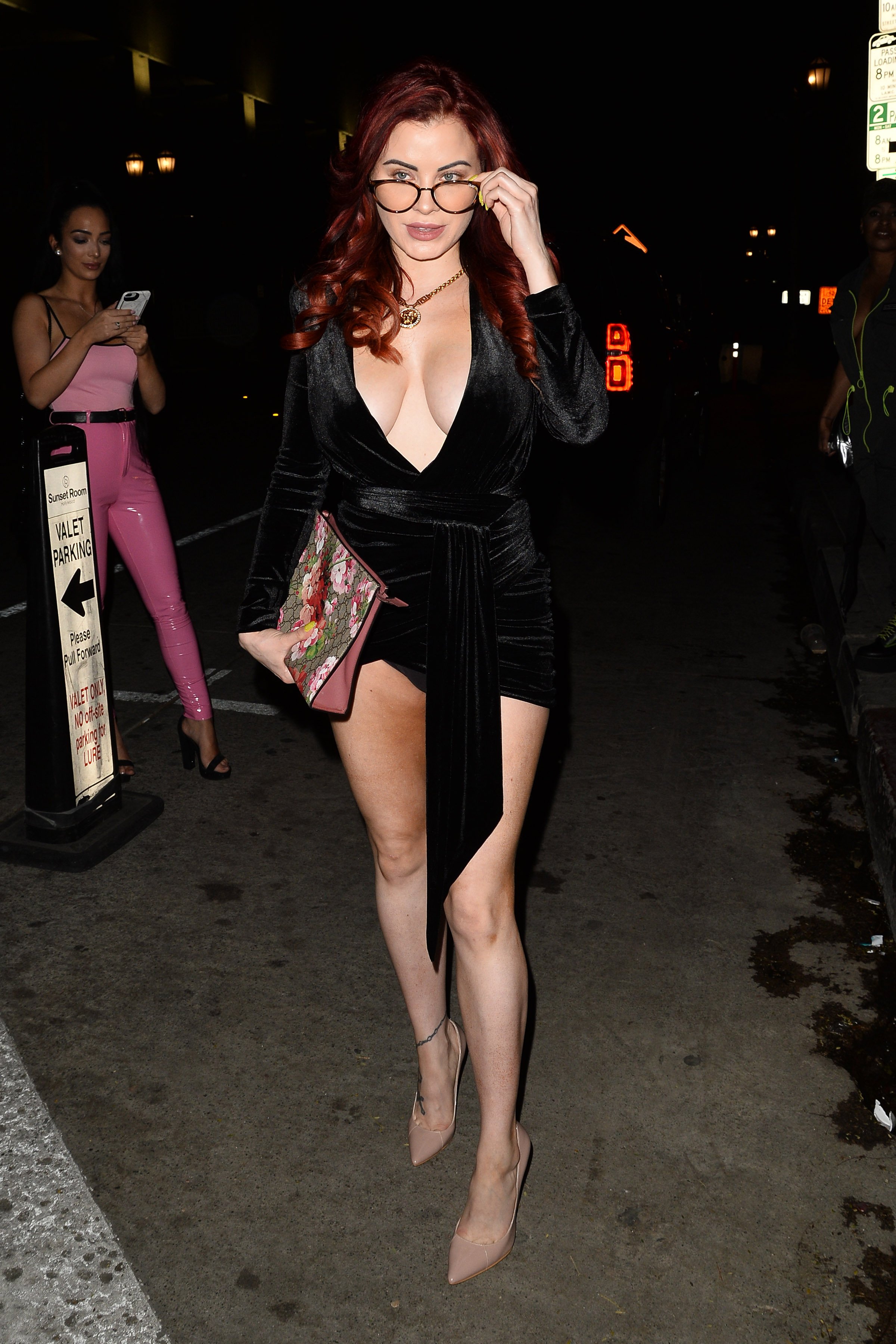 Carla Howe at The Boohoo Man Quavo Party