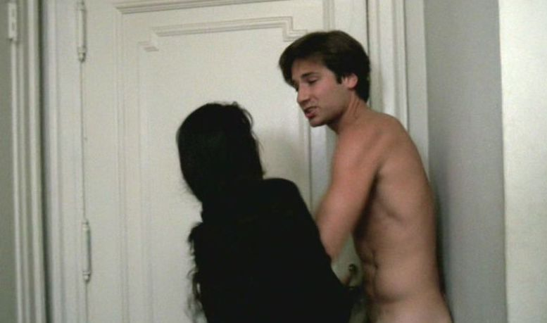 Nude david duchovny Who is