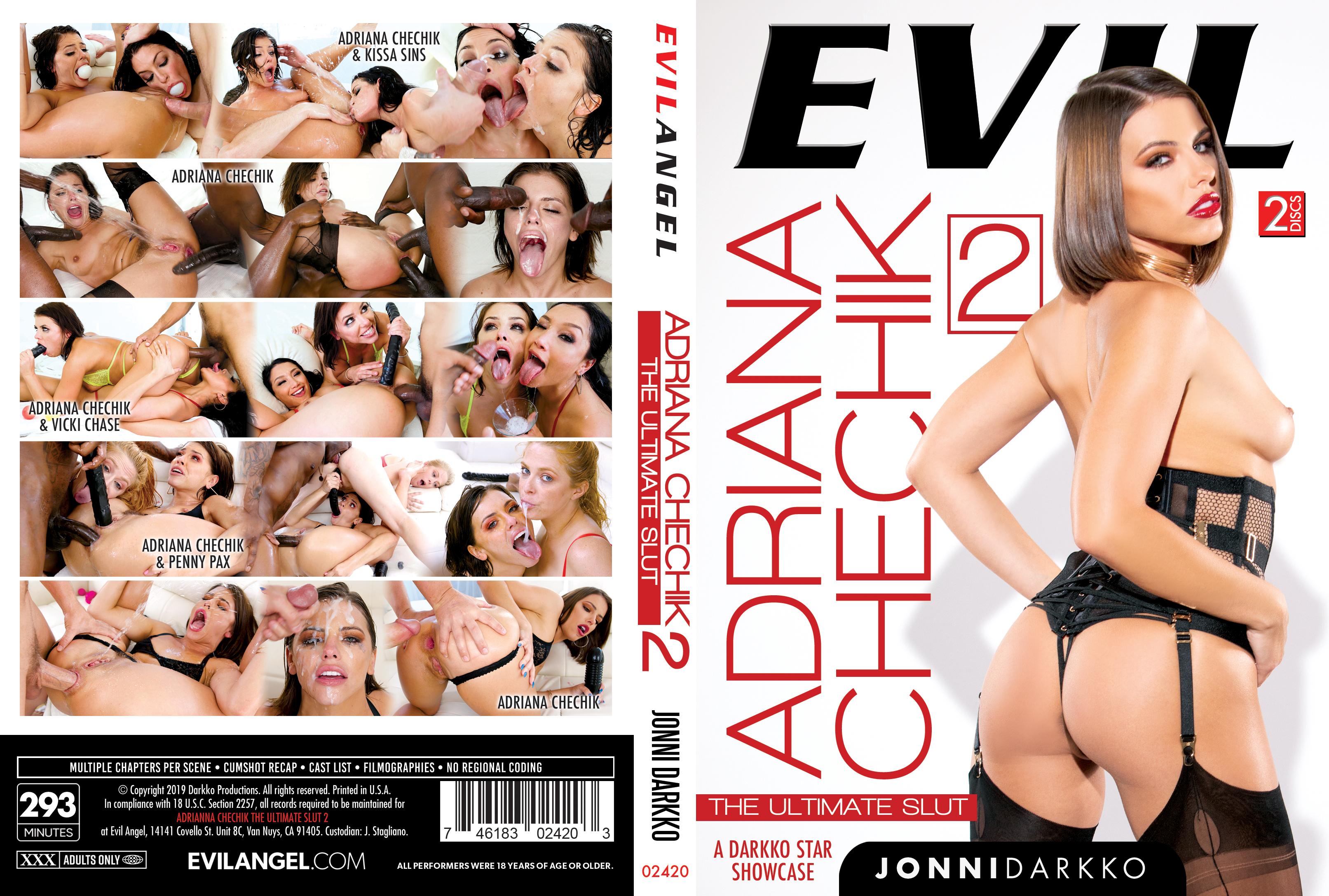 Adriana Chechik The Ultimate Slut porn review darkko productions evil angels adriana chechik