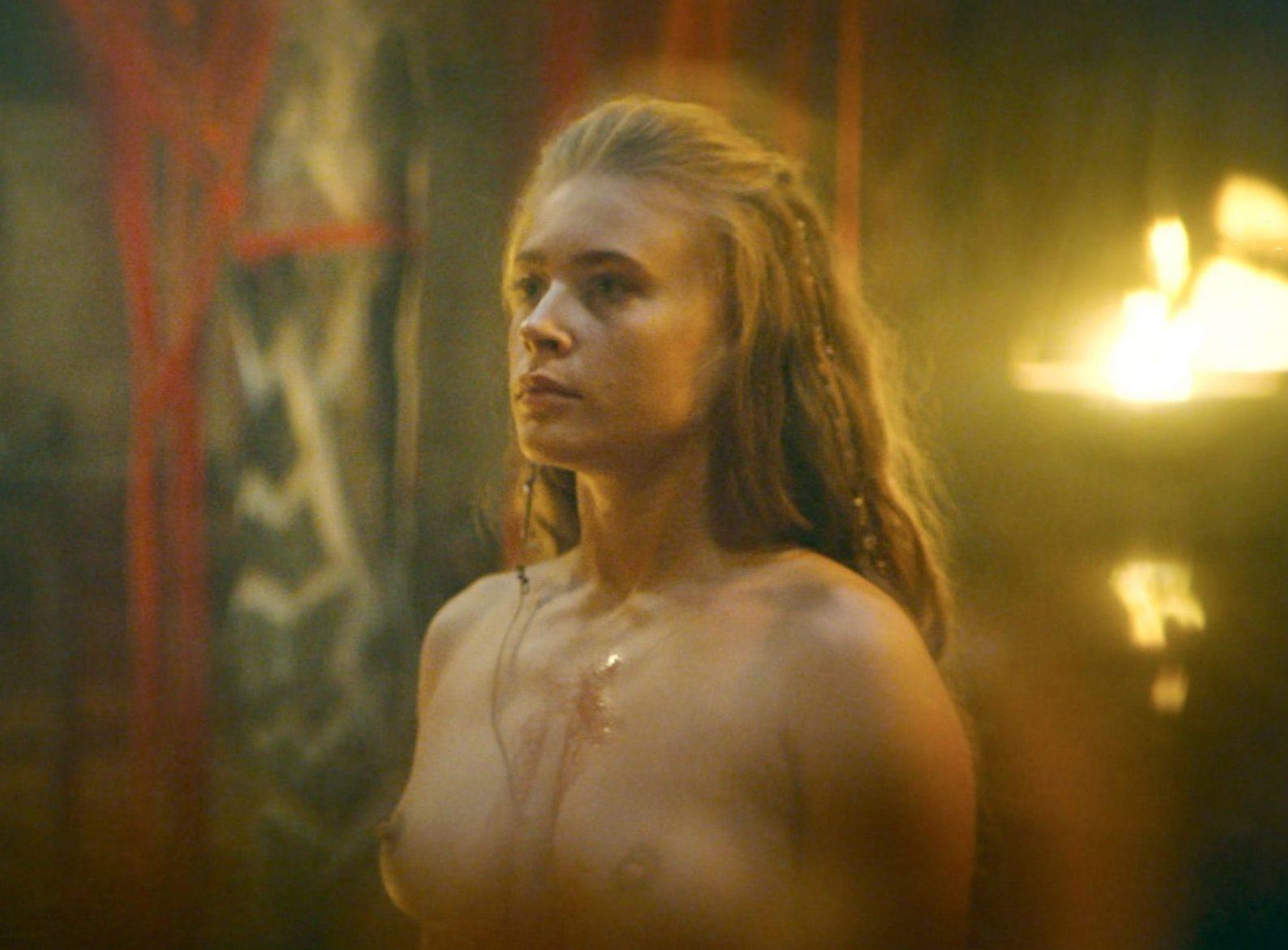 Jeanne Goursaud Nude